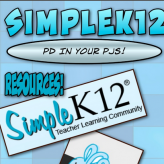 Wednesday Workshop – SimpleK12.com, PD in Your PJs